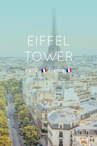 EIFFEL TOWER Paris , 🇫🇷 France 🇫🇷