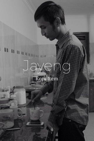 Jayeng Kopi Item