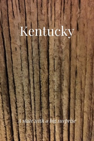 Kentucky A state with a big surprise
