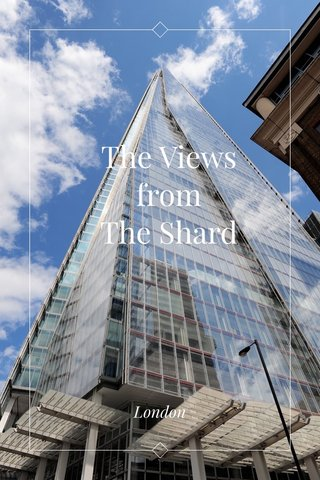 The Views from The Shard London