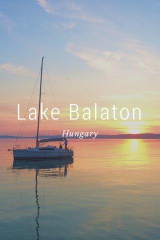Lake Balaton Hungary