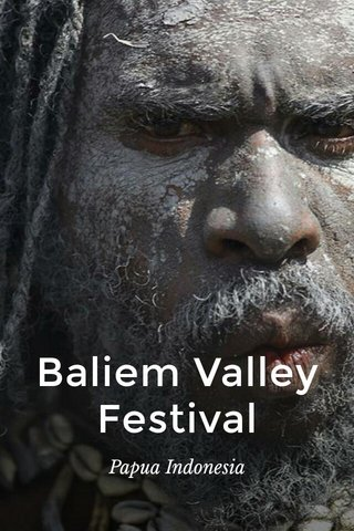 Baliem Valley Festival Papua Indonesia