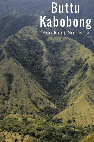 Buttu Kabobong Enrekang, Sulawesi