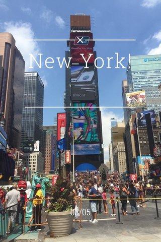 New York! 08/05
