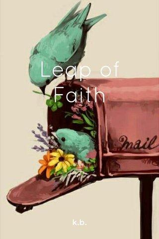 Leap of Faith k.b.