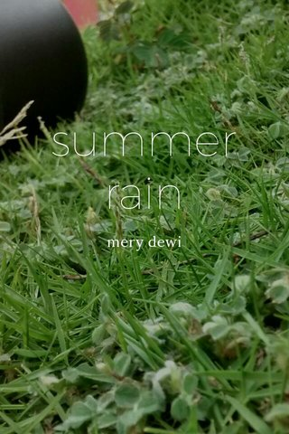 summer rain mery dewi