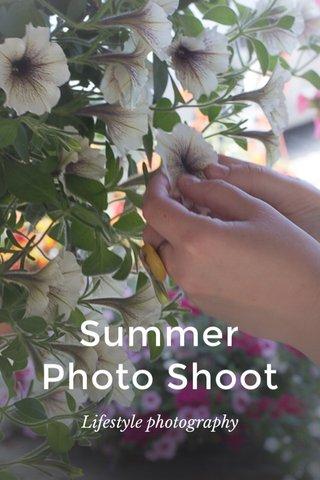 Summer Photo Shoot Lifestyle photography