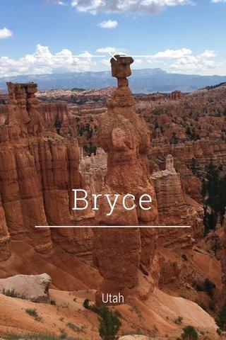 Bryce Utah