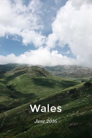 Wales June,2016