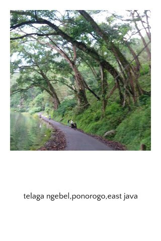 telaga ngebel,ponorogo,east java