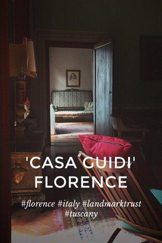 'CASA GUIDI' FLORENCE #florence #italy #landmarktrust #tuscany