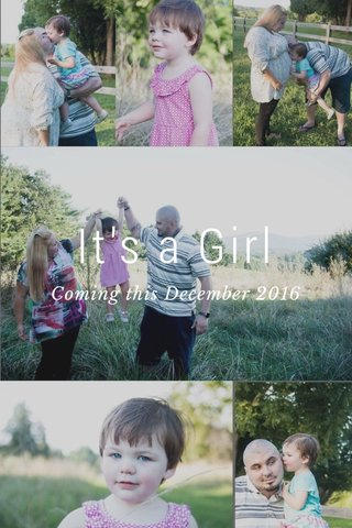 It's a Girl Coming this December 2016
