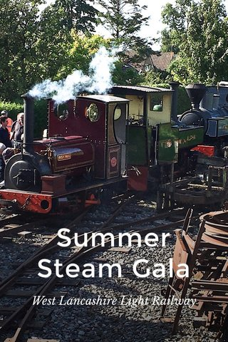 Summer Steam Gala West Lancashire Light Railway
