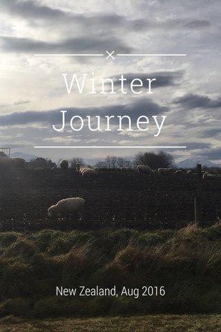 Winter Journey New Zealand, Aug 2016
