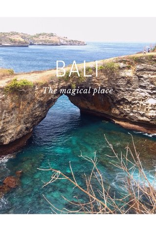 BALI The magical place