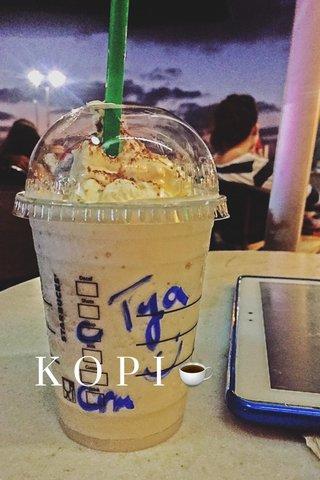 K O P I ☕️
