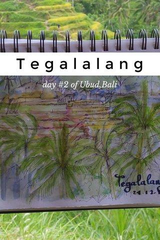 Tegalalang day #2 of Ubud,Bali