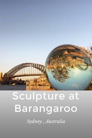 Sculpture at Barangaroo Sydney , Australia