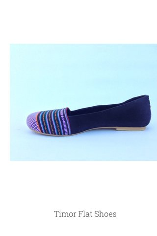 Timor Flat Shoes