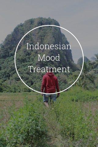 Indonesian Mood Treatment