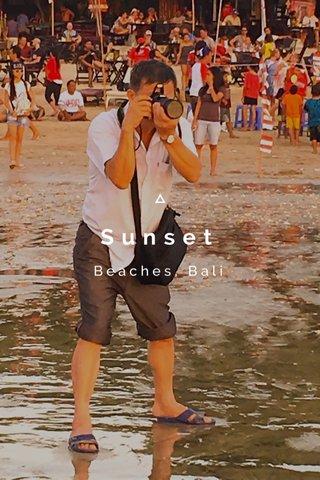Sunset Beaches, Bali
