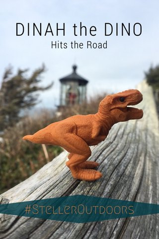 DINAH the DINO Hits the Road