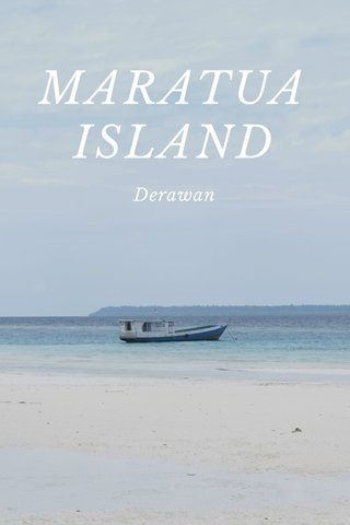 MARATUA ISLAND Derawan