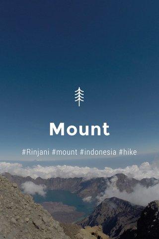 Mount #Rinjani #mount #indonesia #hike