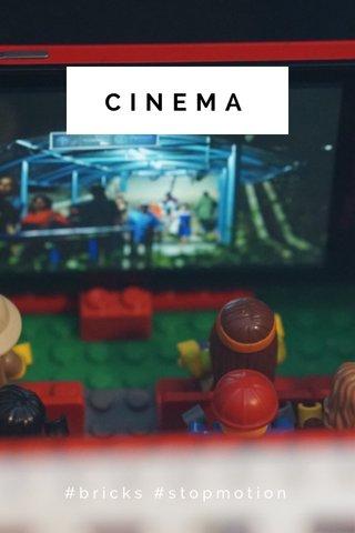 CINEMA #bricks #stopmotion