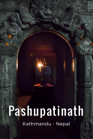 Pashupatinath Kathmandu - Nepal