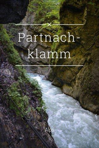 Partnach-klamm Alps