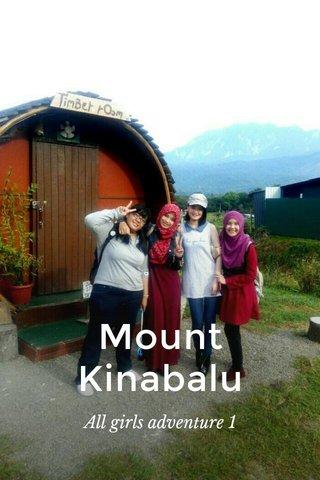 Mount Kinabalu All girls adventure 1