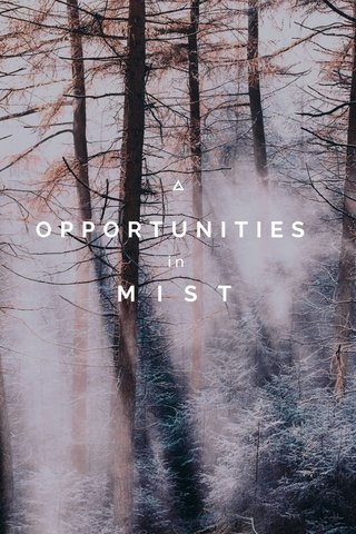 OPPORTUNITIES M I S T in