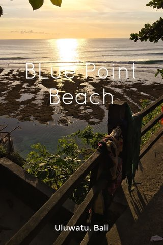 BLue Point Beach Uluwatu, Bali