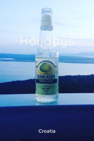 Holidays Croatia
