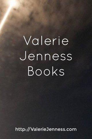 Valerie Jenness Books http://ValerieJenness.com