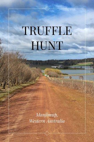 TRUFFLE HUNT Manjimup, Western Australia