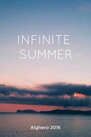 INFINITE SUMMER Alghero 2016