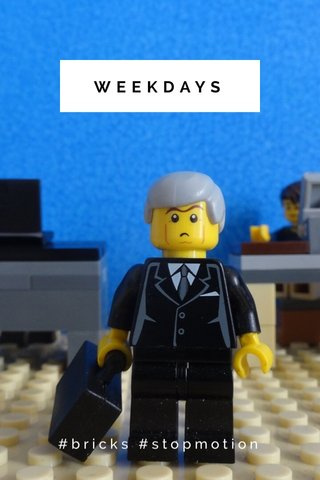 WEEKDAYS #bricks #stopmotion