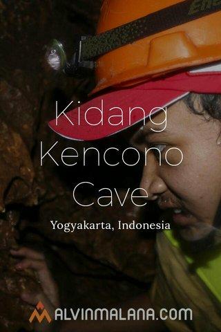 Kidang Kencono Cave Yogyakarta, Indonesia