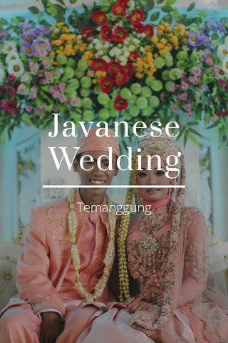 Javanese Wedding Temanggung