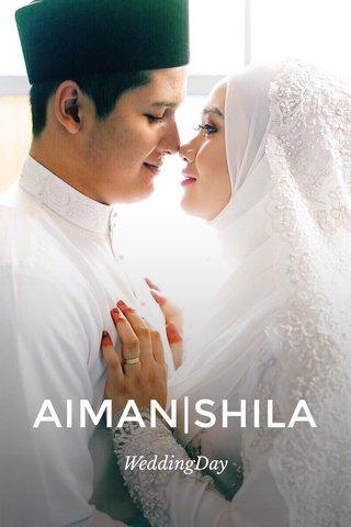 AIMAN SHILA WeddingDay