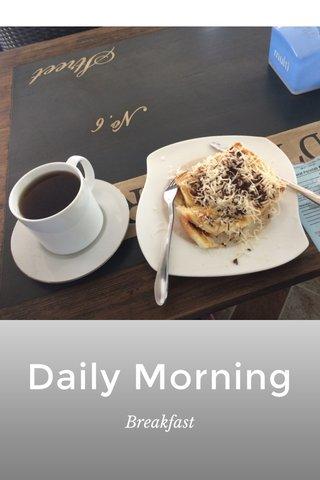 Daily Morning Breakfast