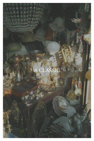 A CLASSIC