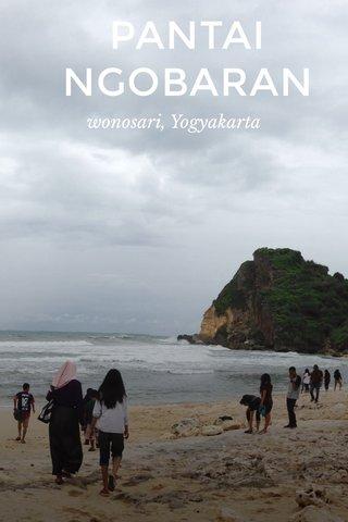 PANTAI NGOBARAN wonosari, Yogyakarta