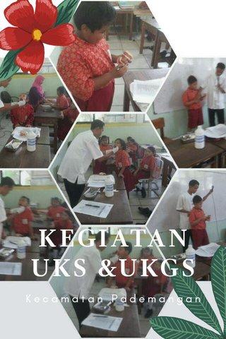 KEGIATAN UKS &UKGS Kecamatan Pademangan