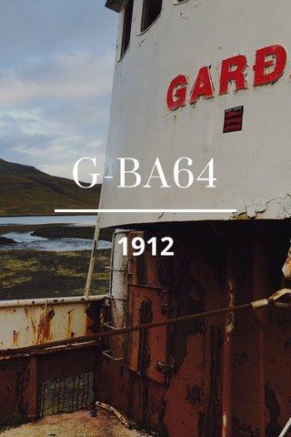 G-BA64 1912