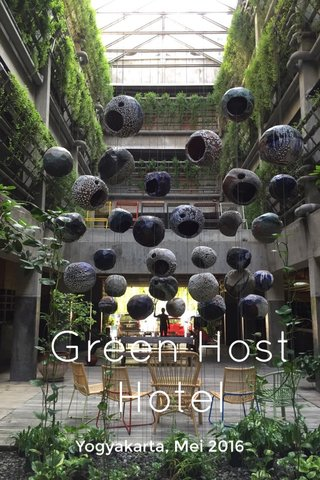 Green Host Hotel Yogyakarta, Mei 2016