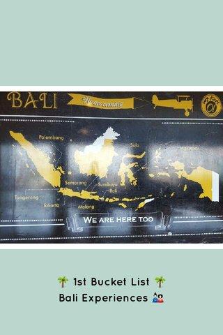 🌴 1st Bucket List 🌴 Bali Experiences 🎎