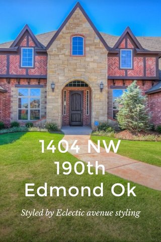 1404 NW 190th Edmond Ok Styled by Eclectic avenue styling